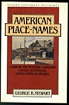 American Place-Names: A Concise and…