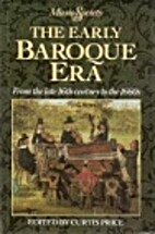 The Early Baroque Era: From the Late 16th…