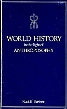 World History in the Light of Anthroposophy…