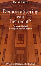 Democratisering van het recht? : de…
