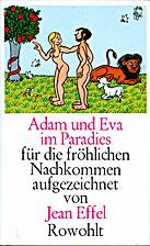 Adam och Eva i paradiset by Jean Effel