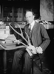 Author photo. George Grantham Bain Collection,<br> LoC Prints and Photographs Division <br>(LC-DIG-ggbain-50488)