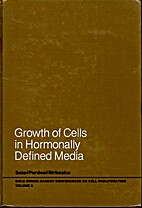 Growth of cells in hormonally defined media,…