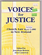 Voices for justice : church, law and state…