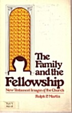 The family and the fellowship: New Testament…