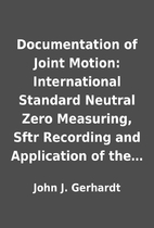 Documentation of Joint Motion: International…