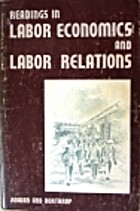 Readings in labor economics and labor…