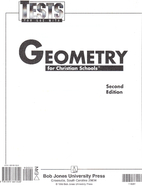 Geometry for Christian Schools 2nd Edition…
