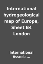 International hydrogeological map of Europe,…