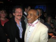 Author photo. Jon Hendricks, on right. Professor Bop, January 20, 2007