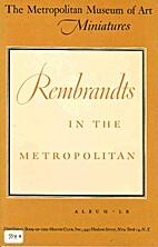 The Metropolitan Museum of Art Miniatures:…