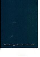 21. Landesförderungspreis für Fotografie…