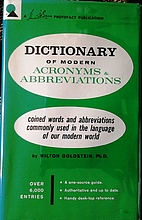 Dictionary of Modern Acronyms &…