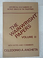 THE WAINWRIGHT PAPERS. VOLUME II: HISTORICAL…