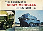 Army Vehicles Directory To 1940