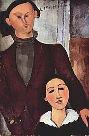 Author photo. Amadeo Modigliani.  1917
