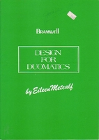 Design for Duomatics (Bramwell) by Eileen…