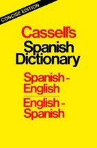 Cassell's Compact Spanish-English,…