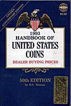 Handbook of United States Coins 1993 by R.…
