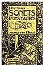 Sonets d'Uns y Altres by Josep Pin y Soler