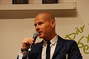 Author photo. The Swedish writer Mons Kallentoft at Göteborg Book Fair 2013 by Mattias Blomgren