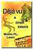 Deja vu & other essays by Marra PL Lanot