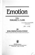 Emotion (The Review of Personality and…