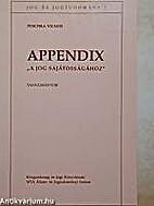 Appendix A jog sajátosságához :…