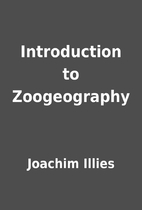 Introduction to Zoogeography by Joachim…