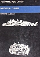 Medieval Cities (Planning and Cities) by…