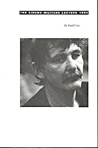The Cinema Militans Lecture 1994 by Paul Cox