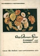 Das Blumen-Photo in Farben und schwarz-weiß…