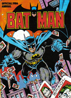 The Official Batman Annual 1986 by World…