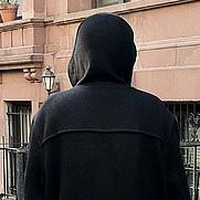 Author photo. Pat's favorite coat walking around New York city.