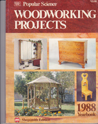 Popular Science Woodworking Projects 1988 by…
