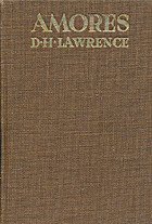 Amores by D. H. Lawrence