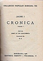 Cronica: volum I by Jaume I