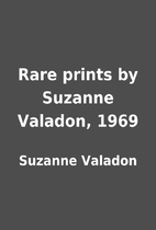 Rare prints by Suzanne Valadon, 1969 by…