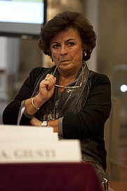 Author photo. Dr. Anna Maria Giusti, Director, Opificio delle Pietre Dure. Photo from <a href=&quot;http://www.advancingwomenartists.org/awa-programs.php&quot; rel=&quot;nofollow&quot; target=&quot;_top&quot;><i>Advancing Women Artists Foundation</i></a>