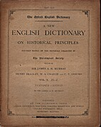A new English dictionary on historical…