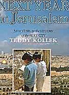 Next Year in Jerusalem by Max Jacoby