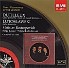 Cello Concerto by Lutoslawski