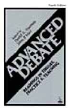 Advanced Debate by Donald Thomas