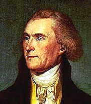 Foto del autor. Thomas Jefferson (1743-1826) (Source: U.S. State Dept.)