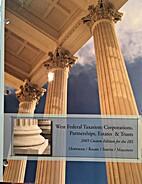 West's federal taxation. Corporations,…