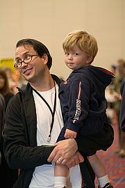 Author photo. Stumptown Comics Fest 2006, photo by Joshin Yamada