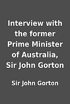 Interview with the former Prime Minister of…