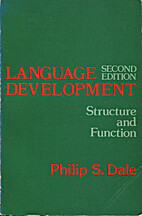 Language Development; Structure and Function…