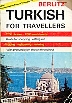 Berlitz Turkish for Travellers by Berlitz…