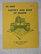History and Role of Armor by Armor School